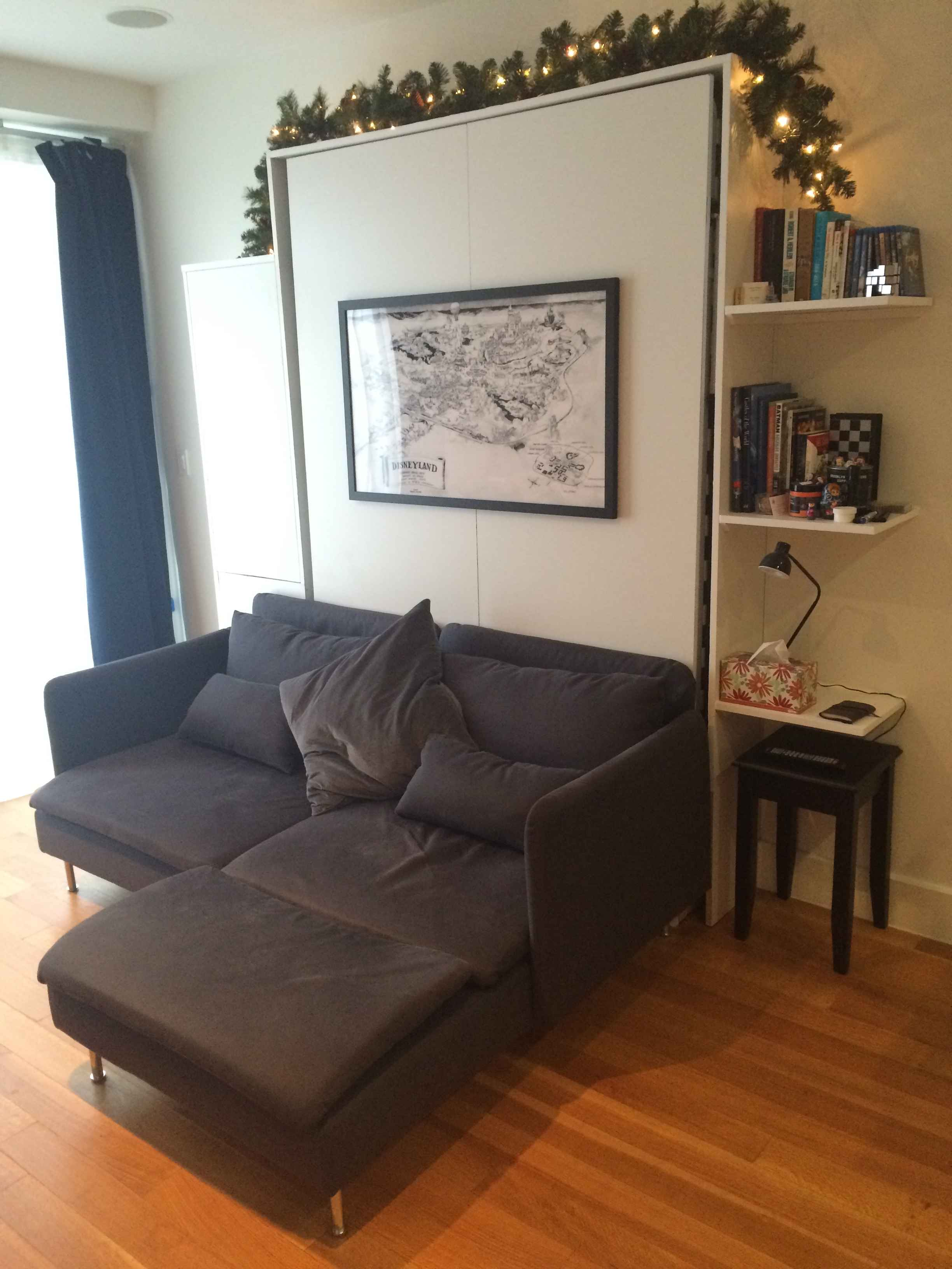 Completed Unit In Sofa Mode. Moving To A Much Nicer But Tiny Brooklyn  Apartment Meant